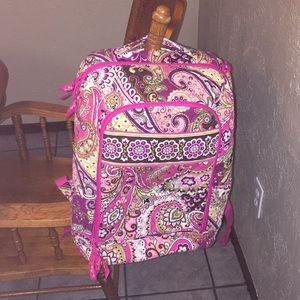 Vera Bradley campus backpack great condition